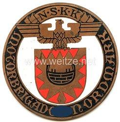 """NSKK - nichttragbare Teilnehmerplakette - """" NSKK Motorbrigade Nordmark """""""
