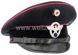 Polizei III. Reich Schirmmütze für einen Angehörigen der Freiwilligen Feuerwehr