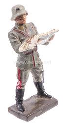 Lineol - Heer Generalstabsoffizier stehend mit Karte