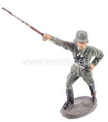 Elastolin - Heer Leutnant stürmend