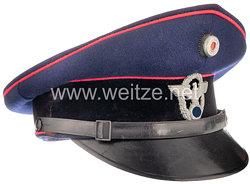 III. Reich Schirmmütze für Mannschaften der Freiwilligen Feuerwehr