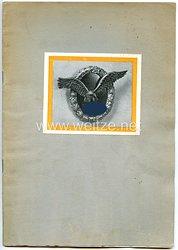 """Luftwaffe - Erinnerungsheft an den Flugzeugführer Franz Erwein Graf von Schönborn-Wiesentheid """" Franz von Schönborn zum Gedächtnis """""""
