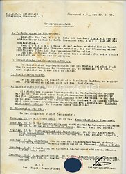 III. Reich - N.S.D.F.B. ( Stahlhelm ) Ortsgruppe Oberursel a.T. - Ortsgruppenbefehl vom 22.2.1935
