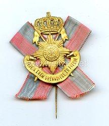 Preußen großes Mitgliedsabzeichen für den Verein der ehemaligen AngehörigenGrenadier-Regiment zu Pferde Freiherr von Derfflinger (Neumärkisches) Nr. 3