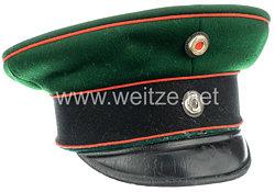 Preußen - Schirmmütze für einen Offizier im Garde-Schützen-Bataillon