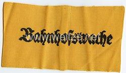 """Wehrmacht Heer Armbinde """"Bahnhofswache"""""""