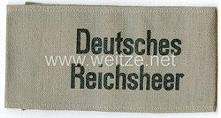 Weimarer Republik Reichswehr Armbinde
