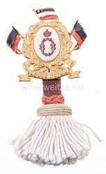 Württemberg Abzeichen für Reservisten des Dragoner-Regiment Königin Olga (1. Württembergisches) Nr. 25