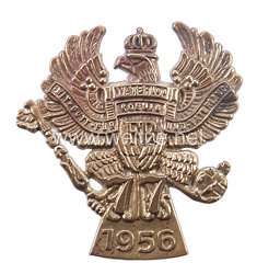 Preußen Abzeichen Regimentstreffen 1956 für Veteranen 2. Hannoversches Infanterie-Regiment Nr. 77
