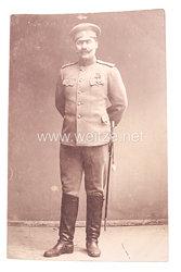 Zaristisches Rußland 1. Weltkrieg Foto eines Offiziers und Träger des St. Georg Ordens