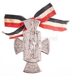 Preußen Erinnerungskreuz Zur Erinnerung an das 100 jährige Bestehen des Infanterie-Regiment Graf Bose (1. Thüringisches) Nr. 31