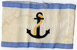 Kriegsmarine Armbinde für einen Luftschutzleiter