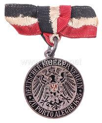 """Deutsches Reich Mitgliedsabzeichen """"Deutscher Kriegerverein zu Porto Alegre 1895"""" in Brasilien"""
