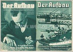 III. Reich - 2 x Ausgabe von : Der Aufbau - Alleiniges amtliches Organ der NS-Hago - 3. Jahrgang 1935 Folge 12 und 13