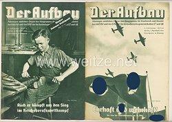 III. Reich - 2 x Ausgabe von : Der Aufbau - Alleiniges amtliches Organ der NS-Hago - 4. Jahrgang 1936 Folge 5 und 6