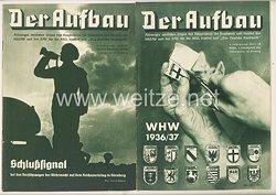 III. Reich - 2 x Ausgabe von : Der Aufbau - Alleiniges amtliches Organ der NS-Hago - 4. Jahrgang 1936 Folge 17 und 18