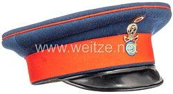 Braunschweig Schirmmütze für einen Unteroffizierim Braunschweigischen Infanterie-Regiment Nr. 92
