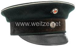 Preußen Schirmmütze für einen Offizier des Garde-Schützen-Landwehr-Bataillons