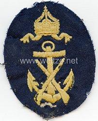 Kaiserliche Marine Ärmelabzeichen für einen Exercier-Serganten