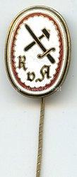 Reichsbund vaterländischer Arbeiter- und Werksvereine ( RvA ) - Mitgliedsabzeichen