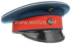 Preußen Schirmmütze für die aus den berittenen Truppen hervorgegangenen Offiziere
