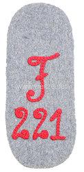 1. Weltkrieg Fliegertruppe: Ärmelabzeichen Feldflieger Abteilung 221