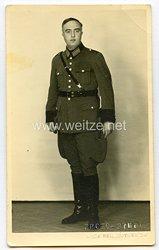 III. Reich Polizei Portraitfoto eines Beamten