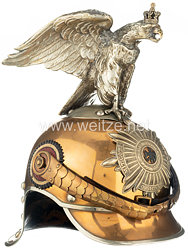 Preußen Helm Modell 1889/97 für Mannschaften im Regiment Garde du Corps, bzw. Garde-Kürassier-Regiment