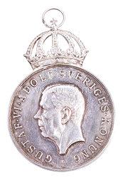 Königreich Schweden Verdienstmedaille Gustaf VI Adolf Sveriges