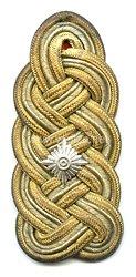 Bayern Einzel Schulterstück für einen Generalleutnant