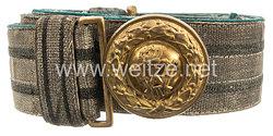 Preußen Feldbinde für Offiziere der Regimenter Jäger zu Pferde N. 8-13