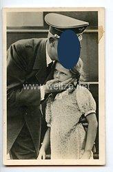 """III. Reich - Propaganda-Postkarte - """" Adolf Hitler - und die Jugend """""""