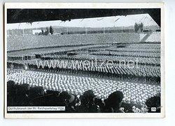 """III. Reich - Propaganda-Postkarte - """" Reichsparteitag Nürnberg 1936 - Der Aufmarsch der HJ """""""