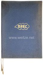 Nationalsozialistischer Reichsbund für Leibesübungen ( NSRL ) - Ehrenbrief des NSRL