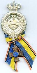 Braunschweig - Braunschweiger Landwehr-Verband - Ehrenzeichen für 25 Jahre Mitgliedschaft