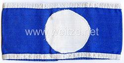 Reichsluftschutzbund (RLB) Armbinde für einen Luftschutzwart