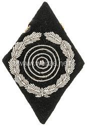 SS-Schießauszeichnung, Ärmelraute Meisterschützen Klasse