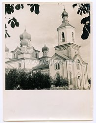 III. Reich Pressefoto: Orthodoxe Kirche in Russland