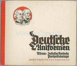Deutsche Uniformen - Zeitalter Deutscher Freiheitskriege - Zigaretten Sammelbilderalbum