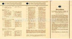 III. Reich / SA - Sturm-Zigaretten - Verzeichnis der Gegenstände, welche für die Gutscheine aus den Zigaretten-Packungen erhältlich sind, z.B. SS-Dienstmütze mit Abzeichen