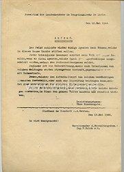 Protektorat Böhmen und Mähren- Präsidium der Landesbehörde in Prag - Aufruf vom 12.5.1944