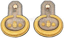 Preußen Paar Epauletten für einen Rechnungsrat im Kriegsministerium