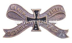 """Preußen Mitgliedsabzeichen """"Landwehr Verein Buchholz Zauche"""""""