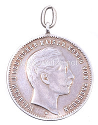 """Preussen Schießpreismedaille """"II. Schießpreis 1910 - Jäger-Regiment zu Pferde Nr. 5"""""""