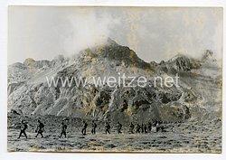 Wehrmacht Heer Pressefoto: Vormarsch im Morgengrauen