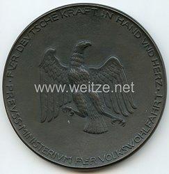 Preußen - Ministerium für Volkswohlfahrt - Adler-Plakette für Verdienste in der Jugendpflege
