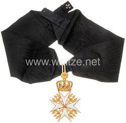 Preussen Johanniter - Orden Kreuz der Herrenmeister, ab 1852