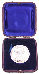 Preussen Ehejubiläums-Medaille zur goldenen HochzeitKaiser Wilhelm II. und Auguste Victoria, 1988