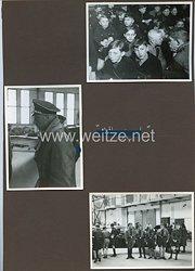 Hitlerjugend Fotos, HJ besucht eine Flugzeughalle