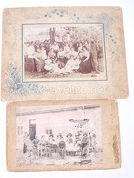 Deutsches Kaiserreich Fotos, Deutsche Familie bei Roustchouk in Bulgarien